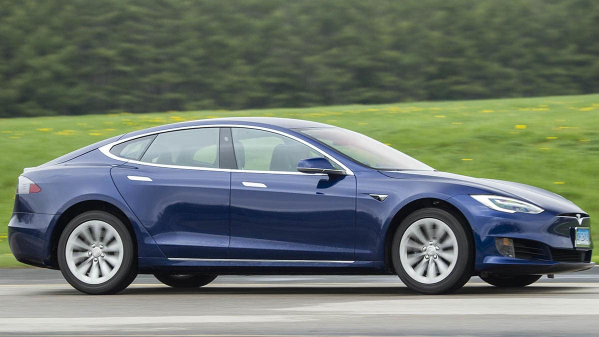 CR's Tesla Model S, which now has Navigate on Autopilot