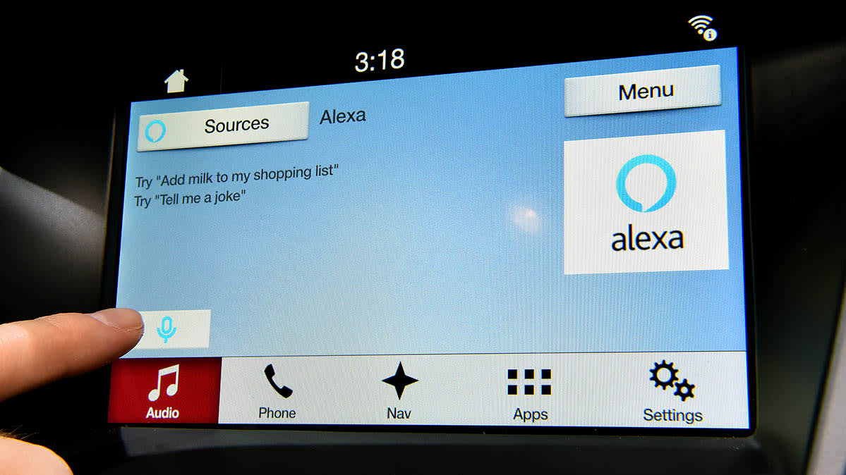 2018 Ford with Alexa