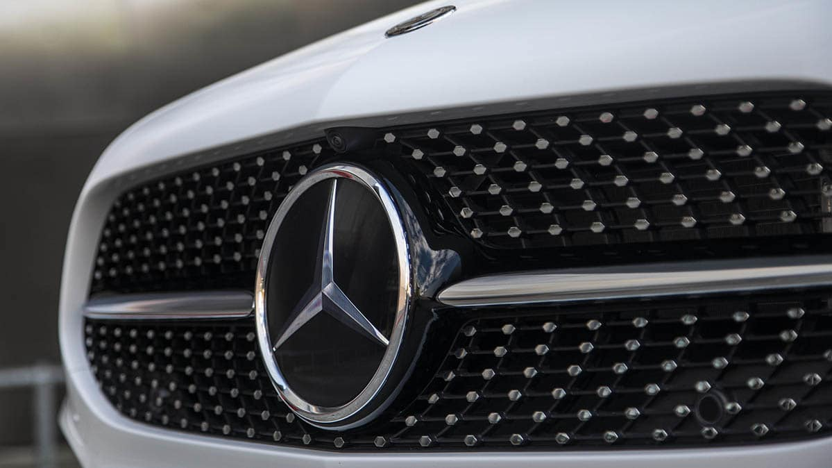 How Mercedes-Benz handles recalls: Photo of A-Class grille.