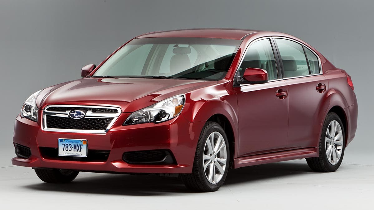 Subaru recalled its Legacy sedan because of a rollaway risk.