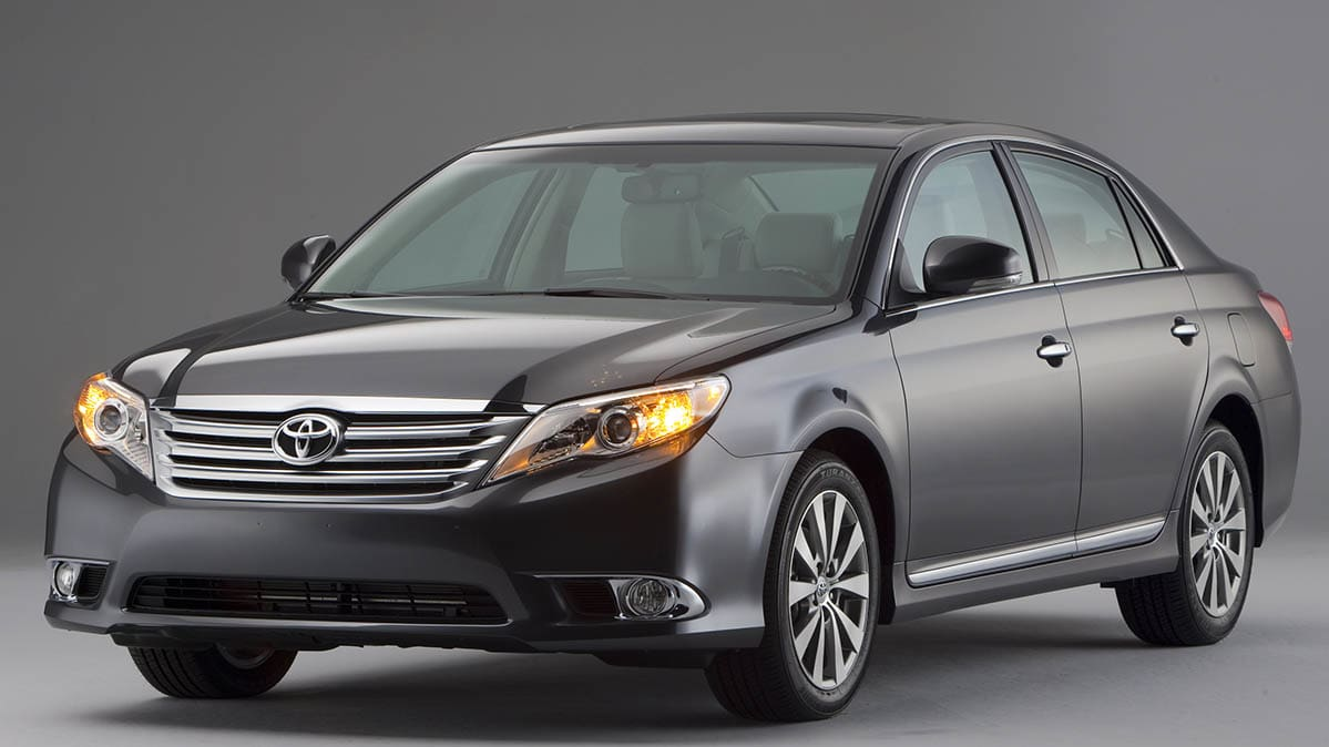 Toyota Avalon Recall (2012 Toyota Avalon shown)