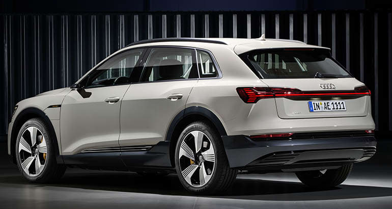 2019 Audi E Tron Electric Suv Rear