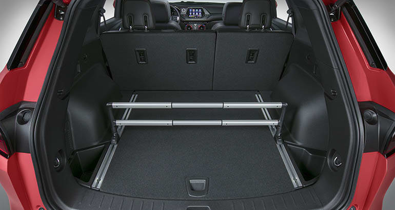 2019 Chevrolet Blazer cargo section