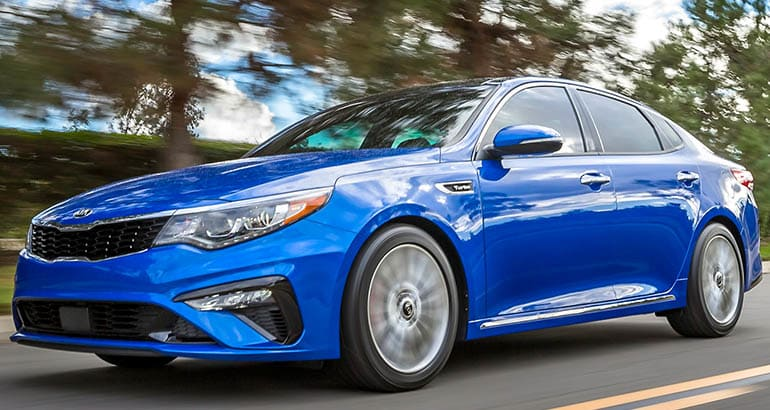 Kia Optima - Best Cars for First-Job Commuters