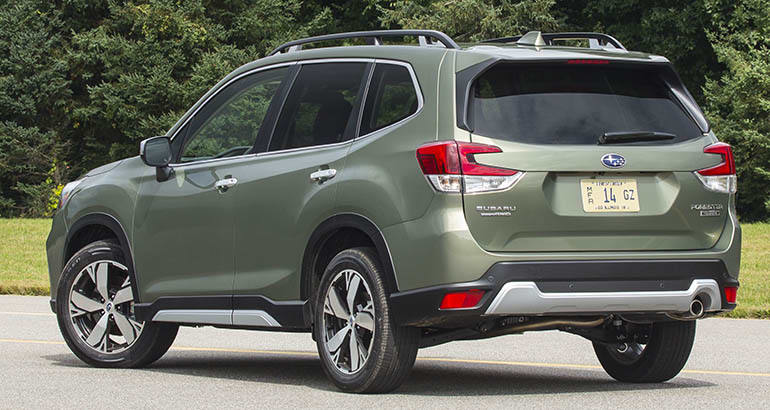 2019 Subaru Forester Rear