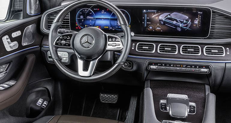 2020 Mercedes Benz Gle Suv Dash