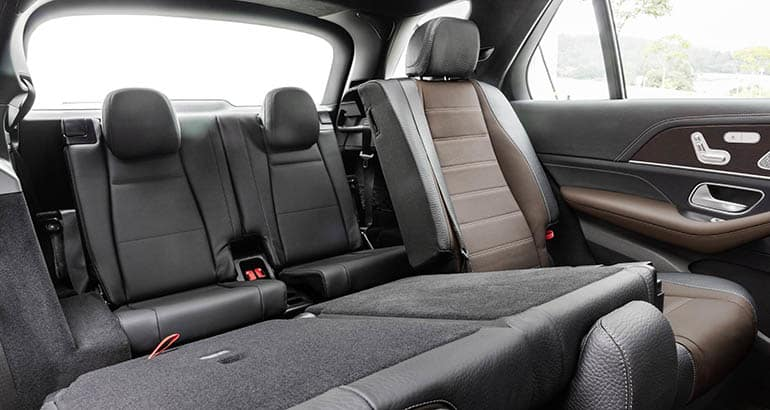 2020 Mercedes-Benz GLE SUV rear seat
