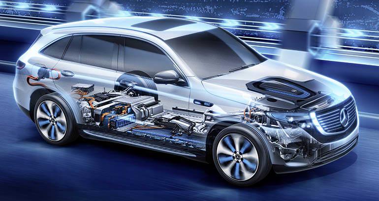 2020 Mercedes Benz Eqc Cutaway