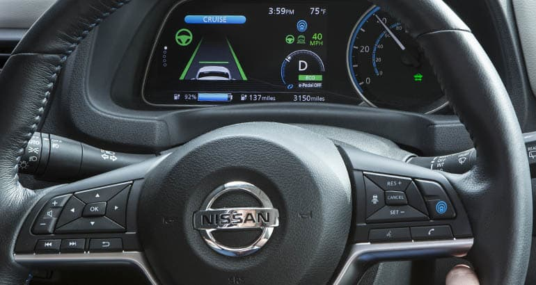 Nissan ProPilot Assist automated system.