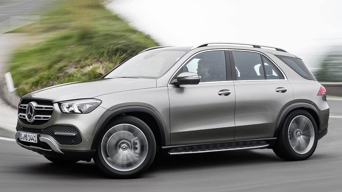 2020 Mercedes Benz Gle Suv Driving