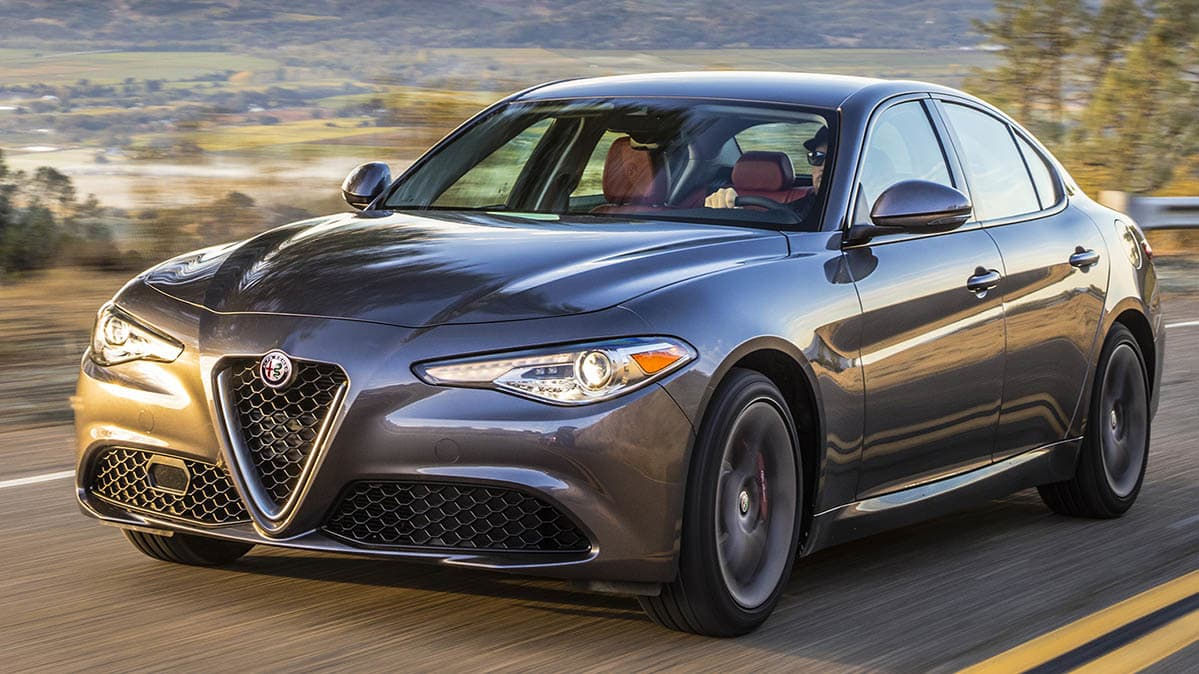 alfa romeo recall: fire risk for stelvio suv and giulia sedan
