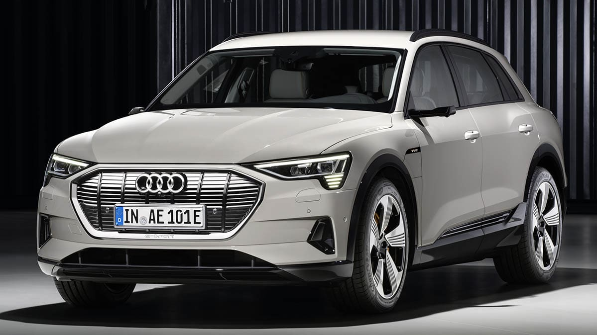 Audi ETron SUV Looks To Take On Tesla Model X Consumer Reports - Audi a 9