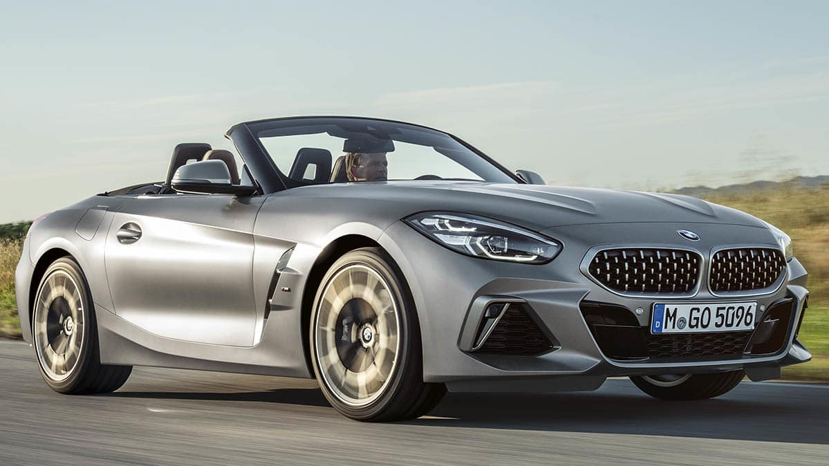 2019 Bmw Z4 Roadster Front Driving