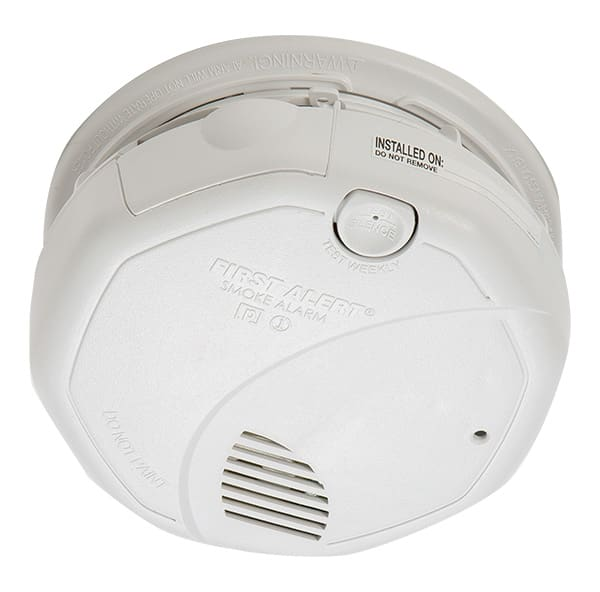 Smoke detectors come in photoelectric, ionization, and dual-sensor varieties.