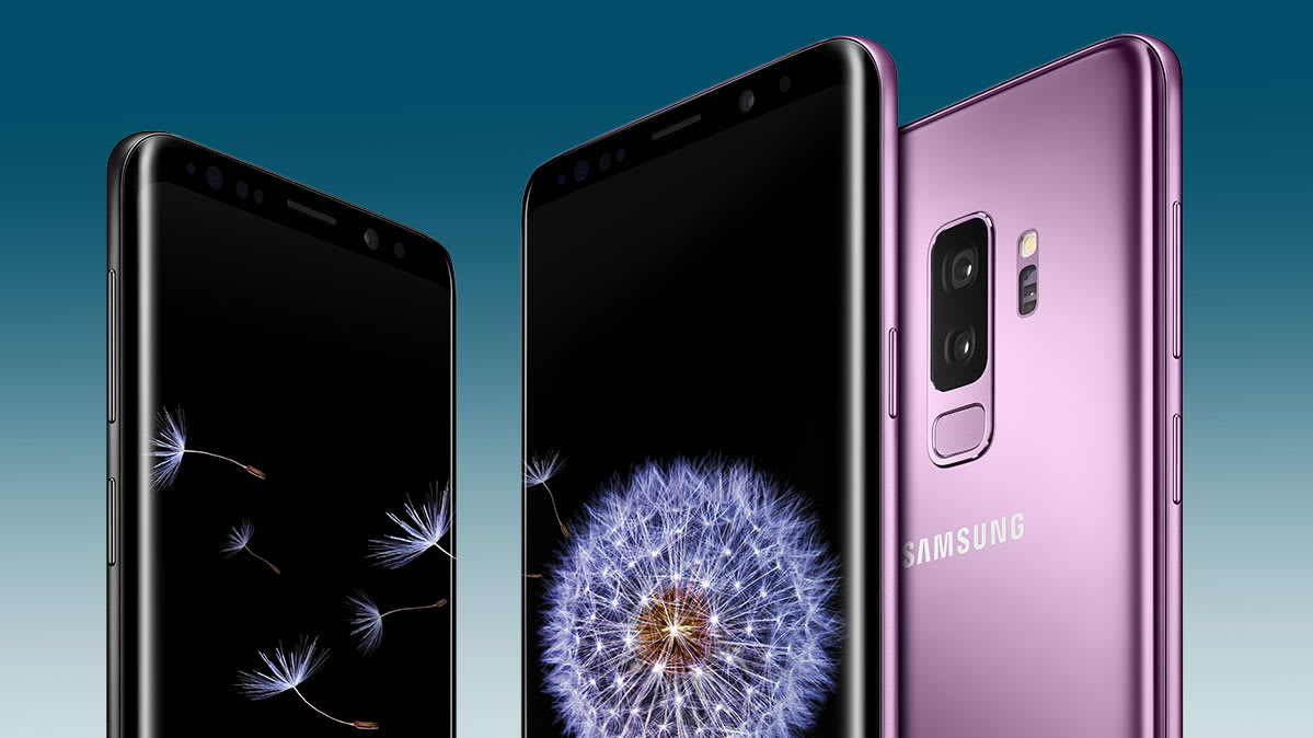 The Samsung S9 and S9+ smartphones