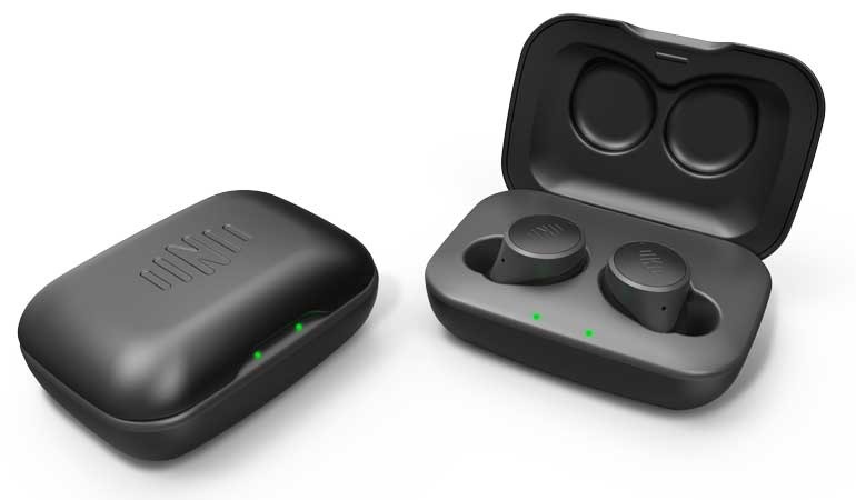 Nuheara Live IQ true wireless headphones are an appealing option for air travel.