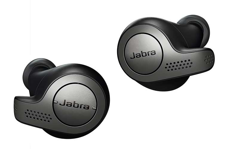 The Jabra Elite 65T earbuds are compatible with virtual assistants.