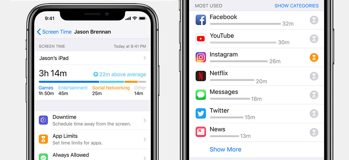 iphone screen timeout apple unveils new screen time controls with ios 12 12296