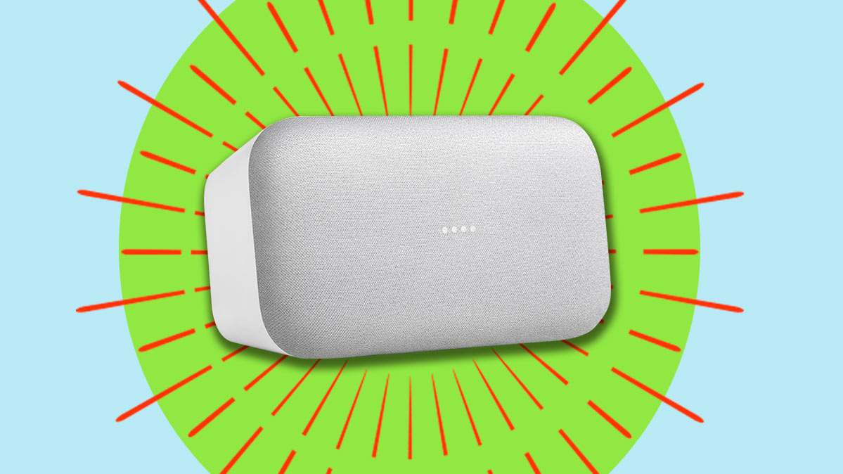 The Google Home Max