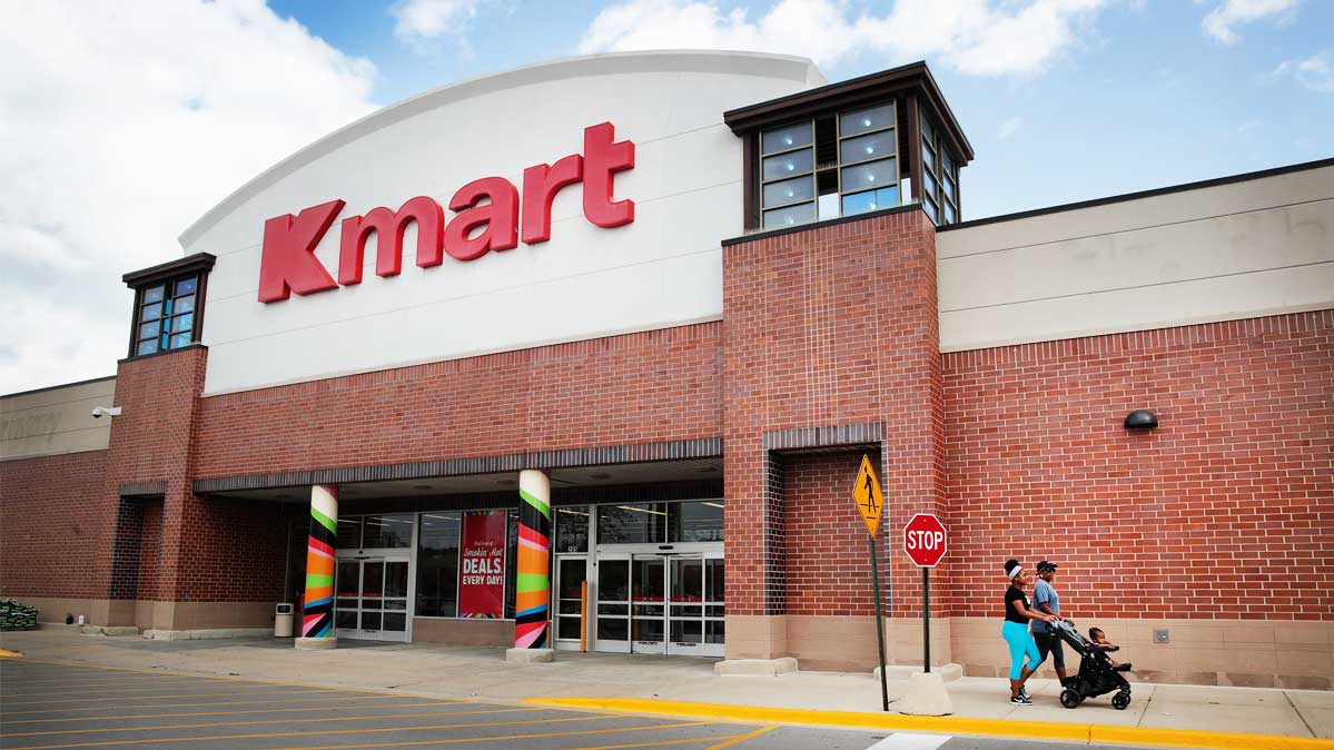 A Kmart store. Kmart Pharmacy lowered it's prescription drug prices.