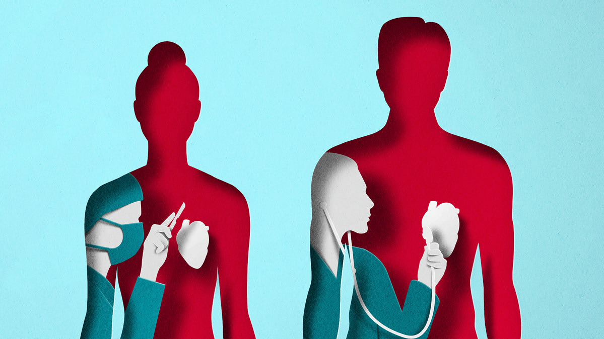 Women more likely to survive a heart attack with female doctors