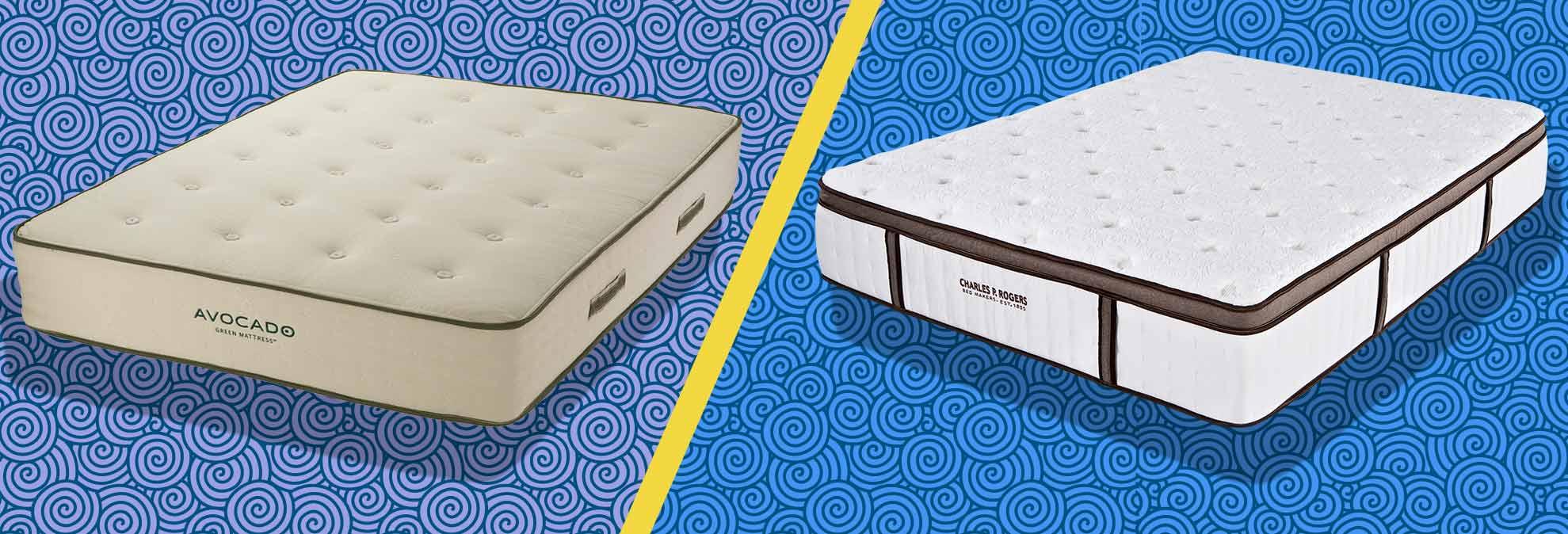 avocado green vs charles p rogers mattress review consumer reports
