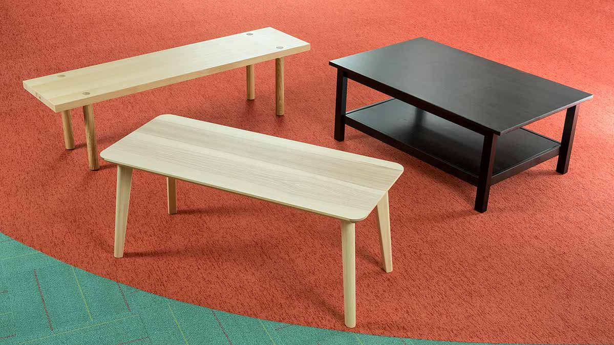 does ikea 39 s lisabo table cut down on assembly time consumer reports. Black Bedroom Furniture Sets. Home Design Ideas