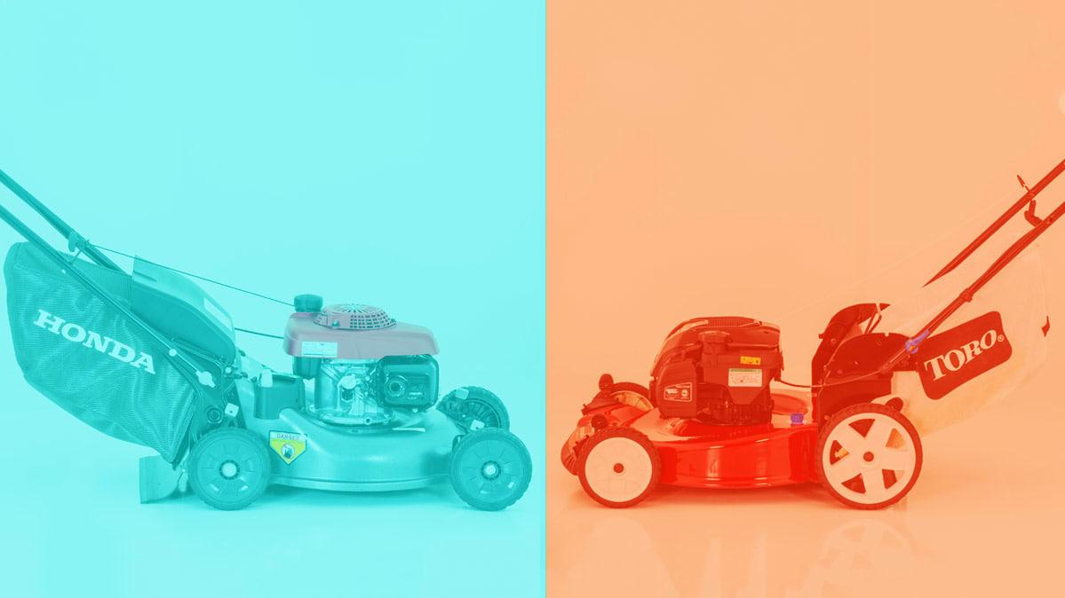 Is The Best Push Mower Honda Or Toro