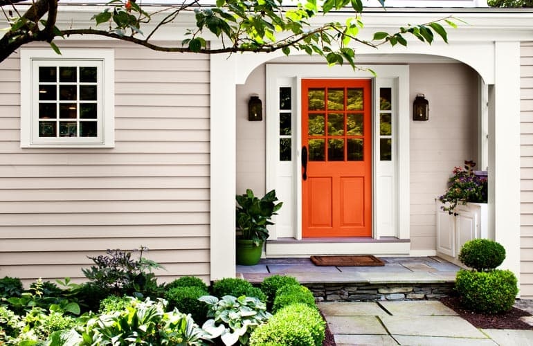 Delightful Trendy Exterior Paint Colors