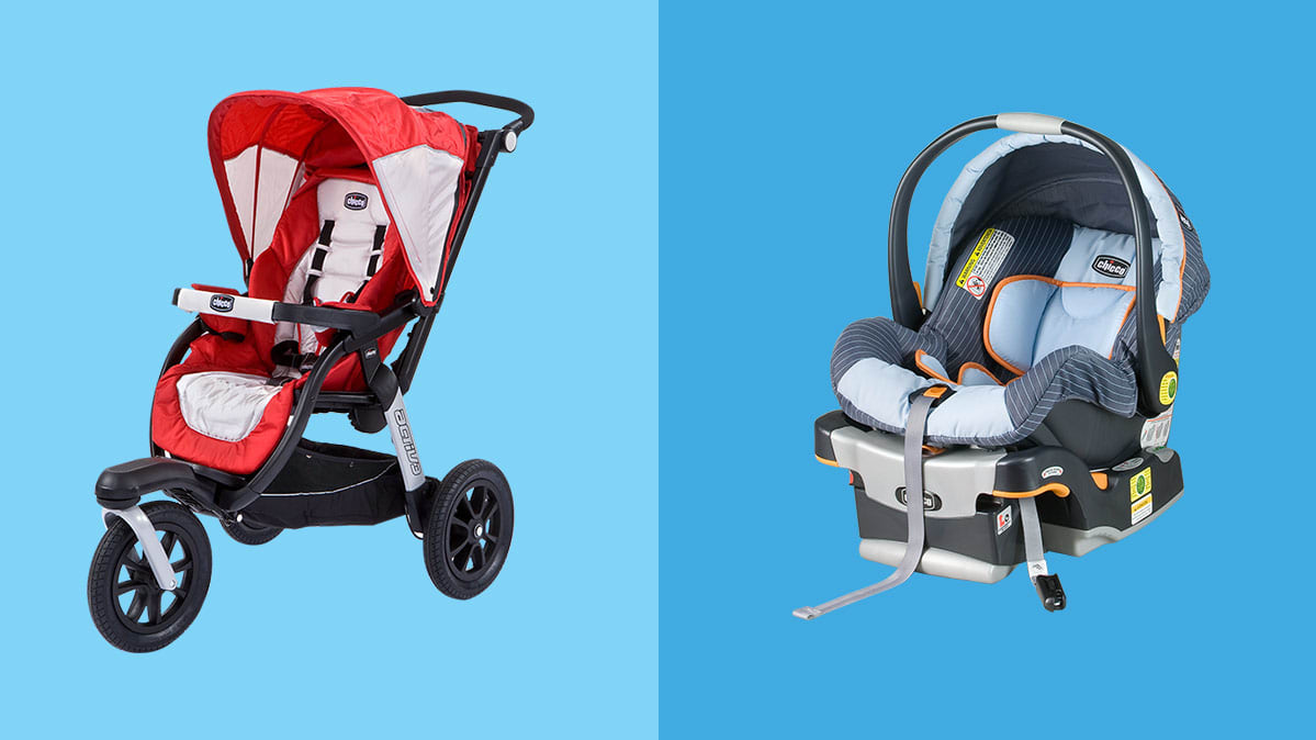 Chicco Activ3 stroller and Chicco KeyFit Price car seat