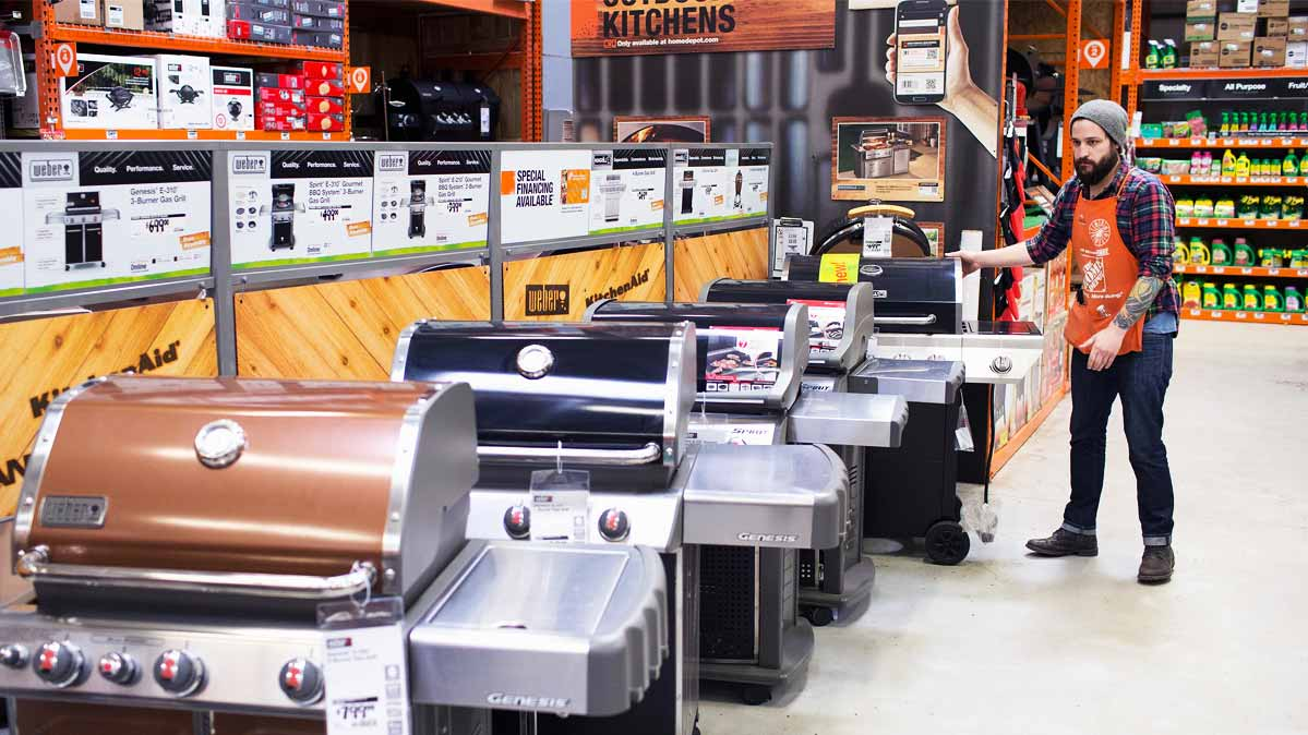 More Than 40 Percent Of Gas Grills Sold In The U S Come From Home Center Giants Depot And Lowe Alone Has About 190 Models