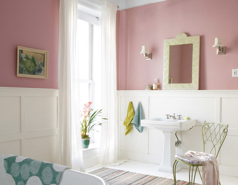 Sherwin-Williams Fading Rose 6296.