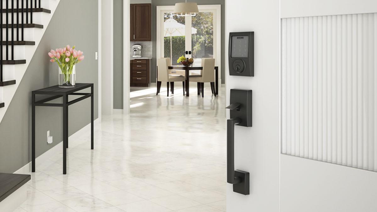 acc nickel handleset dp com satin single door schlage addison and handles locks amazon v accent cylinder lever add
