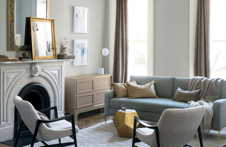 Benjamin Moore S Metropolitan Af 690 Is Predicted To Be One Of The Hottest Interior Paint