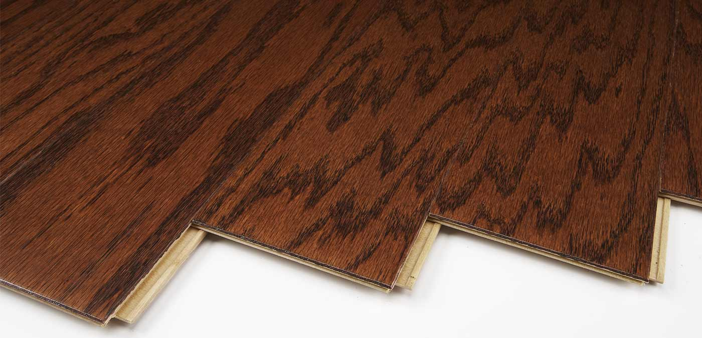 Laminate Vs Engineered Wood Harris Wood Traditions SpringLoc Red Oak Bridle engineered wood