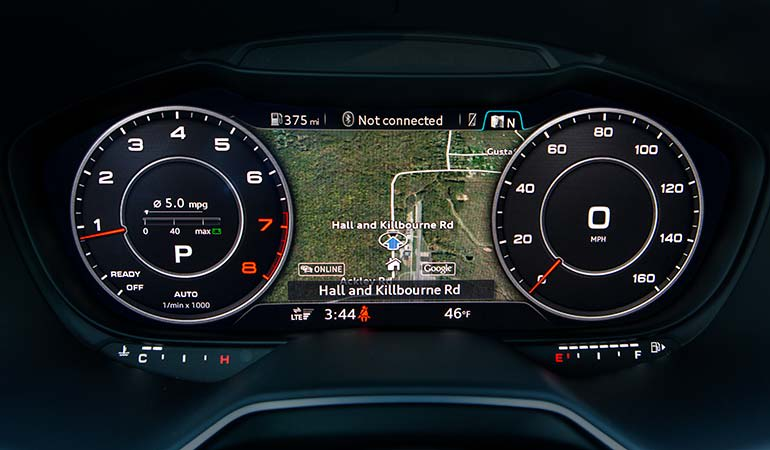 Moderately Distracting Infotainment Systems - Audi