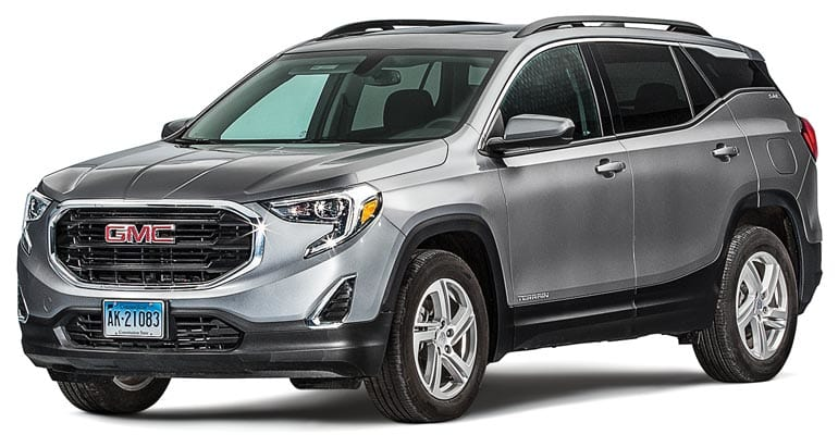 2018 gmc terrain review a luxury misfire consumer reports. Black Bedroom Furniture Sets. Home Design Ideas