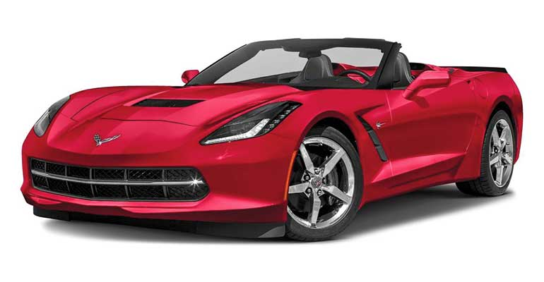 Braking Chevrolet Corvette Stingray