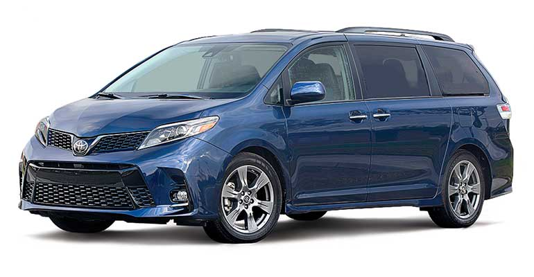 Toyota Sienna is among the Best End-of-Summer New-Car Deals
