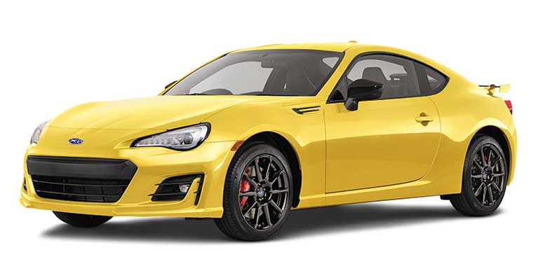 Best Sporty Car Subaru BRZ