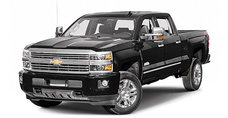Least reliable cars: Chevrolet Silverado 2500HD.