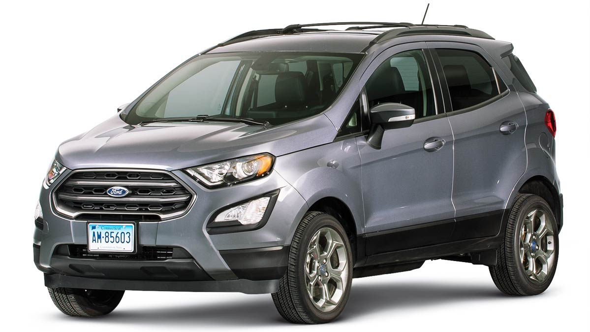 2018 ford ecosport review consumer reports. Black Bedroom Furniture Sets. Home Design Ideas