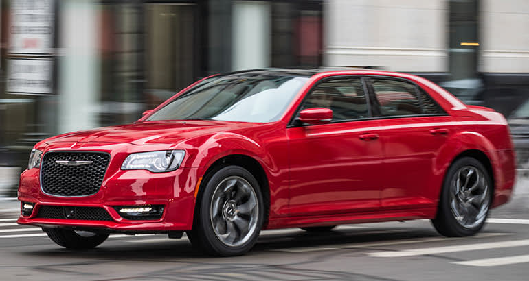 Recall on chrysler 300