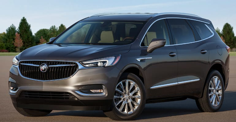 Least reliable cars: Buick Enclave