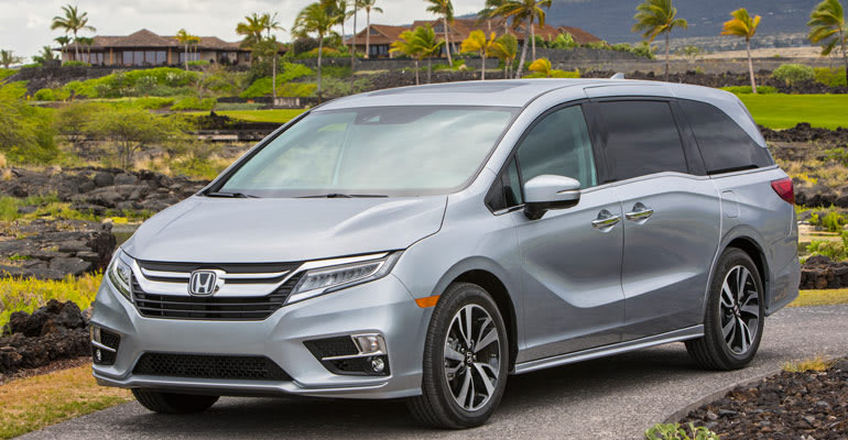 Least reliable cars: Honda Odyssey