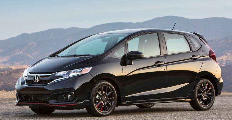 Most reliable cars: Honda Fit