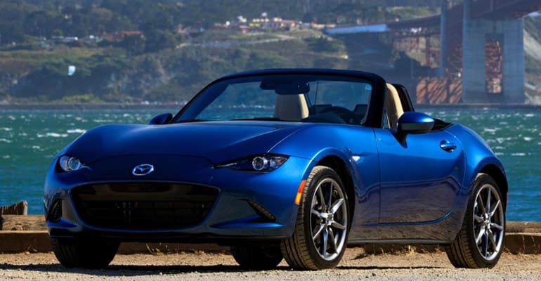 Most reliable cars: Mazda MX-5 Miata