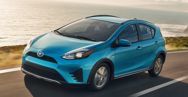 Most reliable cars: Toyota Prius C