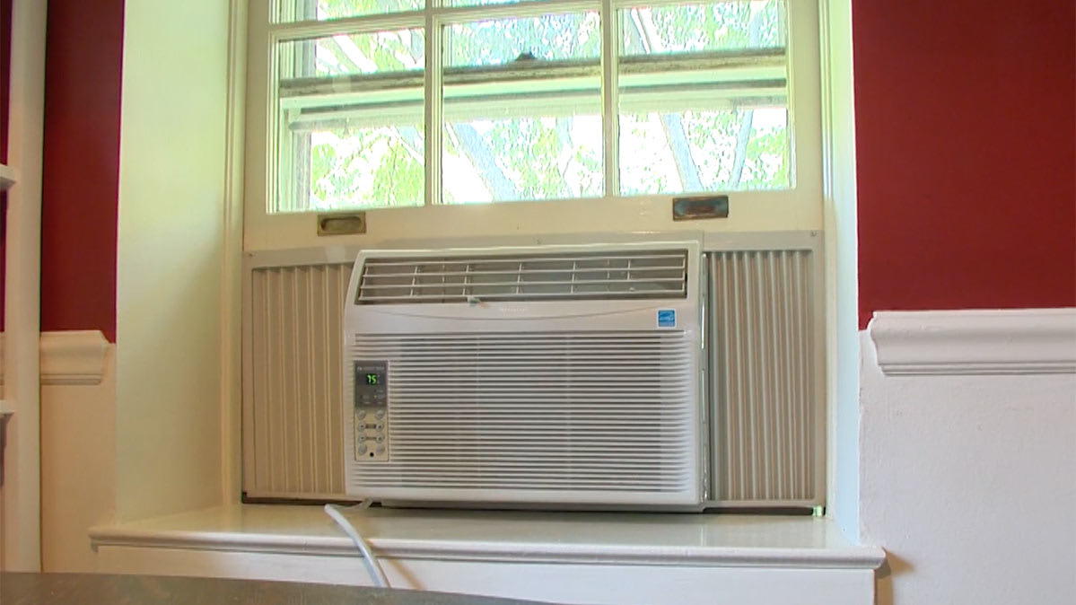 A Window Air Conditioner