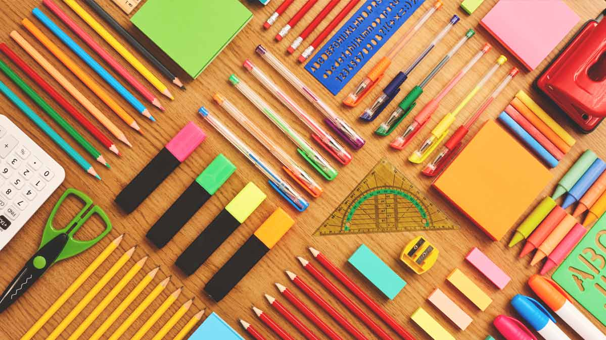 Purchase back-to-school supplies during your state's sales tax holiday.